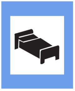 """Informatory Road Signs - Resting Place 