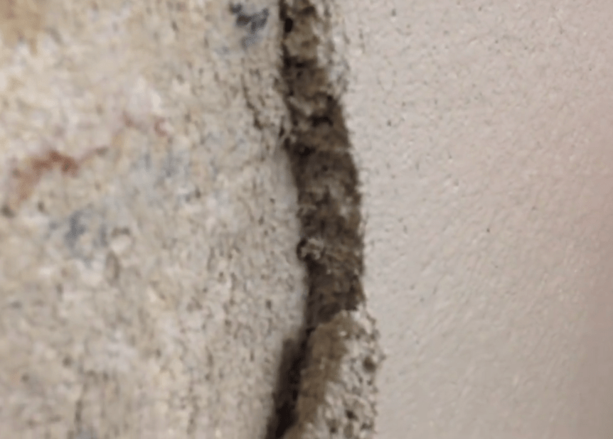 Thickness of plaster