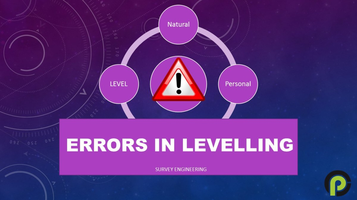 Source of Errors in Levelling & How to avoid in Civil Engineering