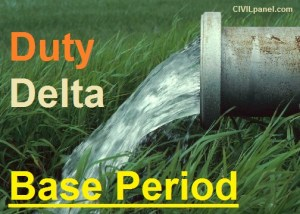 Duty, Delta and Base Period relationship in Irrigation Engineering