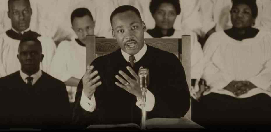 Martin Luther King, Jr. Preaching