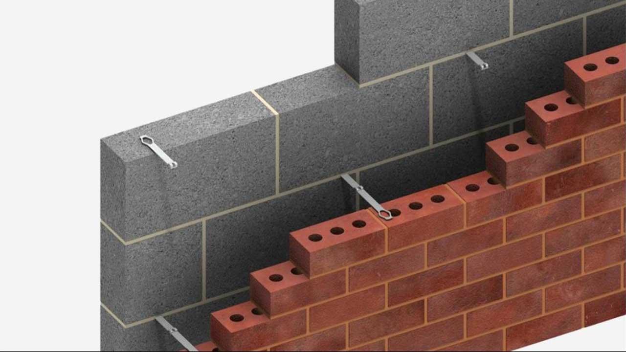 cavity wall construction its