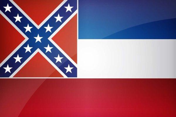 Mississippi State Flag | Image Credit: AllFlagsWorld.com
