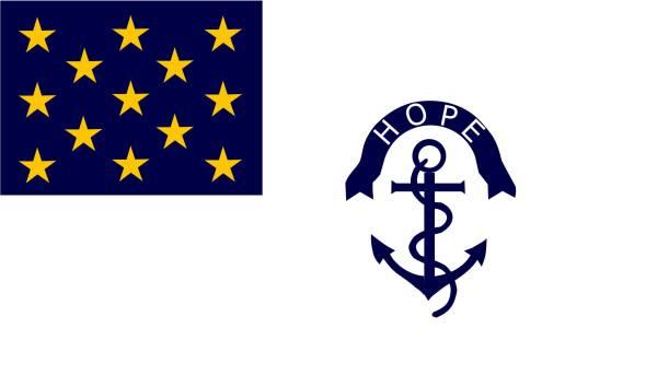 Rhode Island Regiment Flag   Image Credit: Wikipedia.org