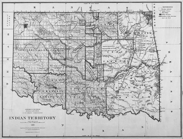 The Indian Territory | Image Credit: Wikipedia.org