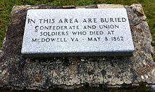 Plaque on the battlefield | Image Credit: Wikipedia.org