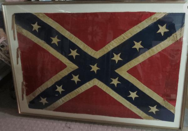 preserved battle flag