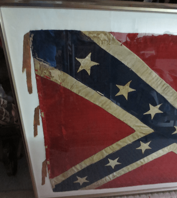 Left side of the battlefield flag