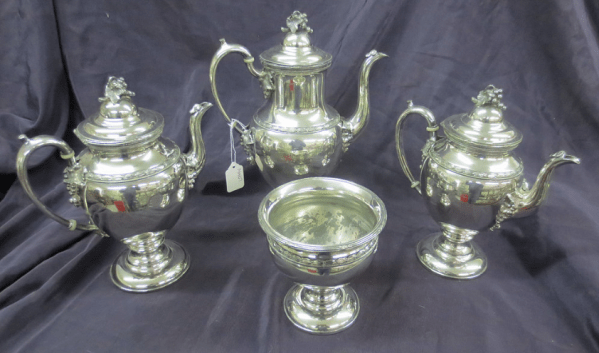 antique teapot set