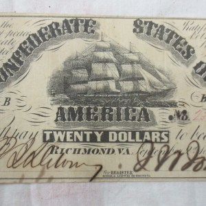 old dollar bill