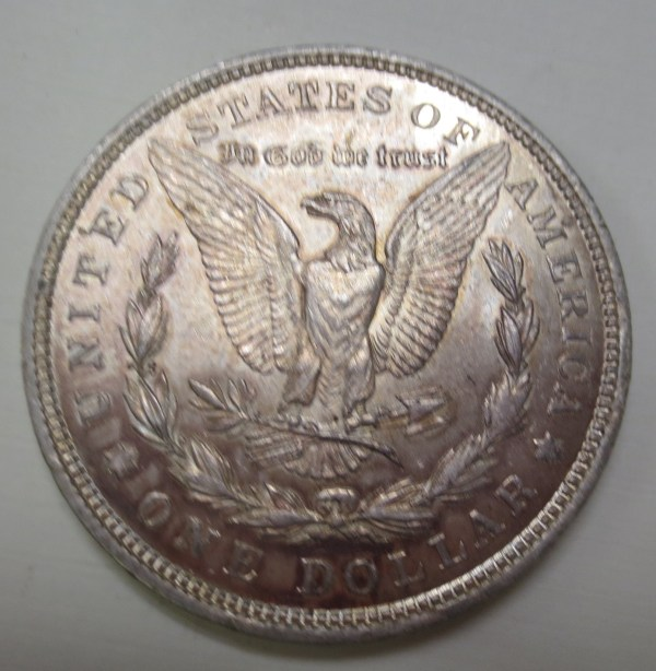 US silver one dollar coin