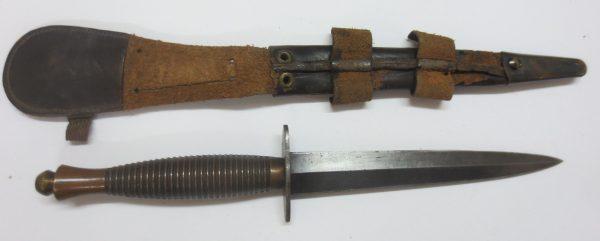Knife with knife holder