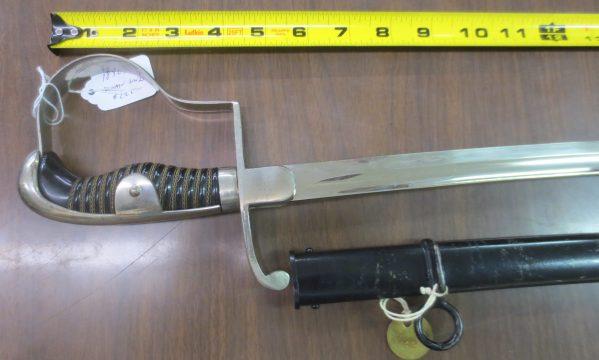 silver sword handle