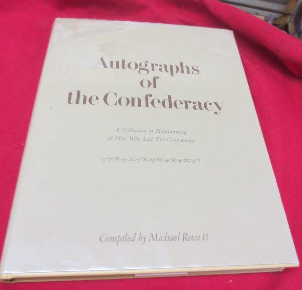 antique book of autographs