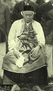 Sultan Thaha Syaifuddin (Raden Thaha Adiningrat)