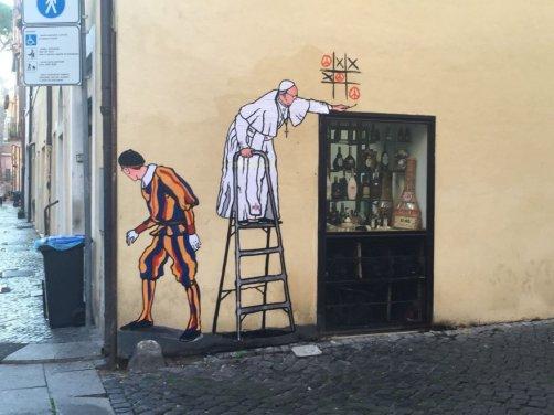graffito-papa