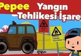 Pepee ile Eğitici Çizgi Filmler – Yangın Tehlikesi