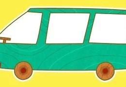 Çocuklar için Arabalar- Minivan