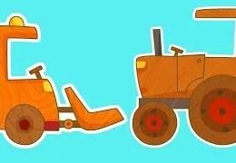Çocuklar için Arabalar- Traktör
