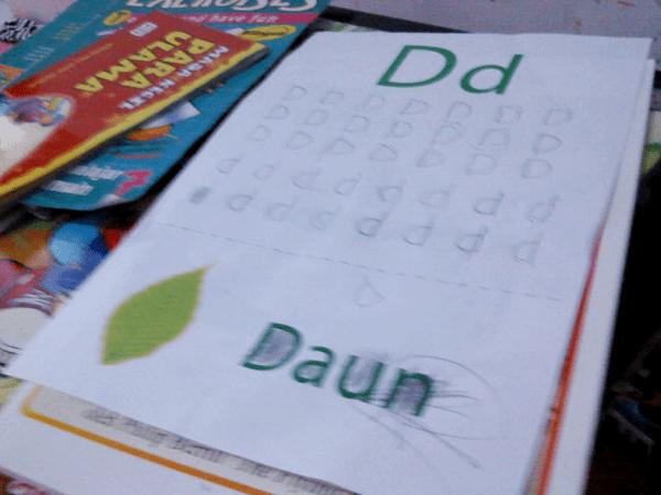 belajar tulis