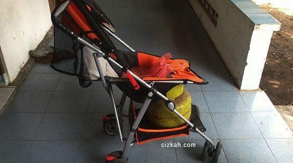 beli gas pakai stroller