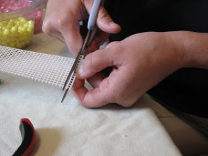 making color counting beads