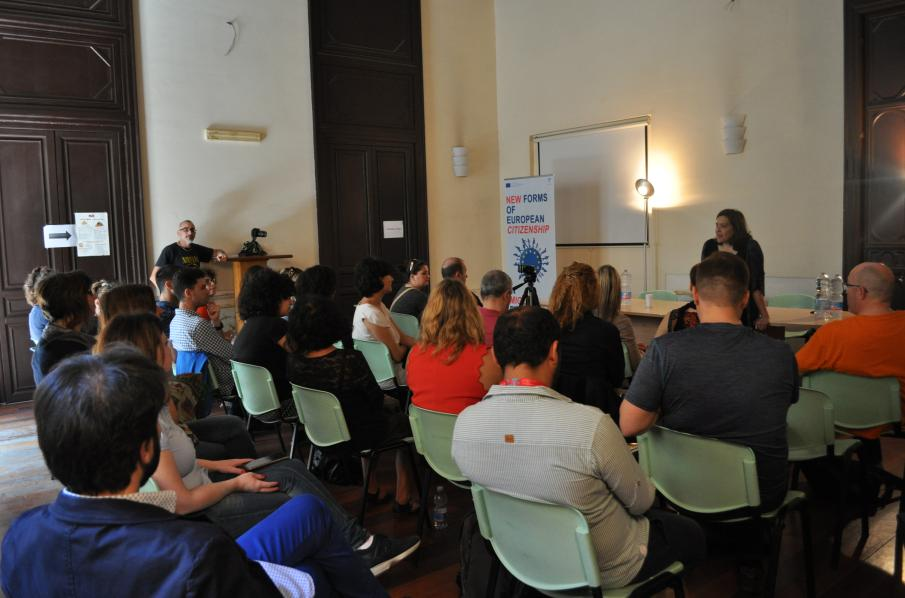 """NECME – New forms of European citizenship in the age of migration"" – Reuniões e Debates em Palermo"