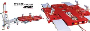 ez liner express - table de redressage - cj-equipement