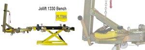jollift 1330 bench - table de redressage - cj equipement