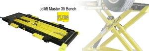 jollift master35 bench - table de redressage - cj equipement