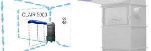 Clair 5000 - systeme d'aspiraration - CJ Equipements