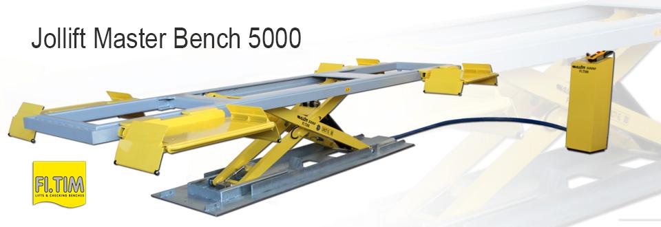 Banc de redressage – Jollift Master Bench 5000 (Fitim)
