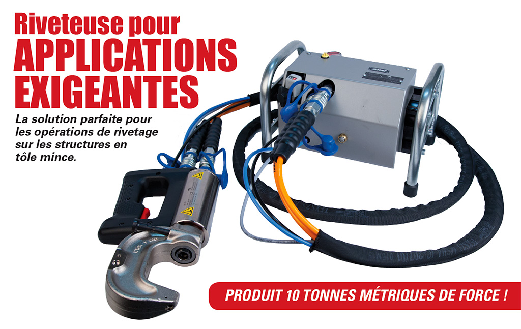 Rivet gun HD - Soudure - CJ Equipements