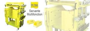 Servante multifonctio - banc de redressage - CJ Equipements