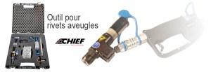 outil pour rivets aveugles - soudure - CJ Equipements