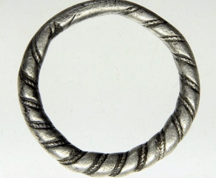 Silver ring found in the netherlands