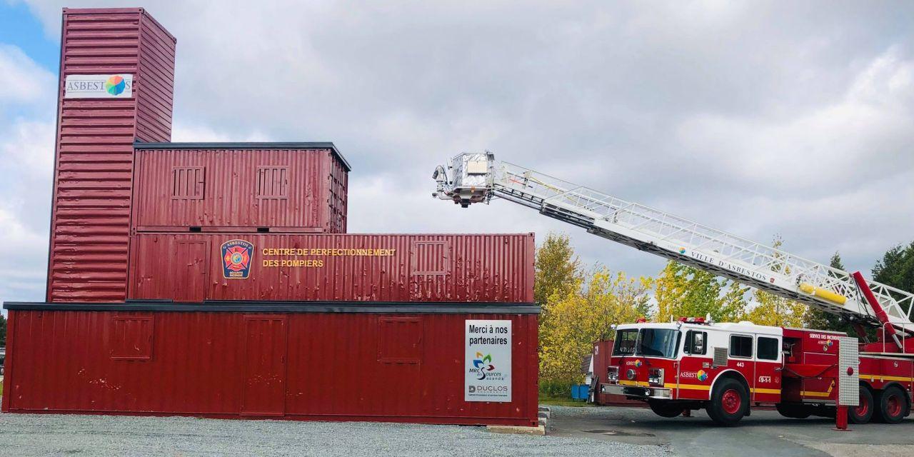 Inauguration du Centre de perfectionnement des pompiers