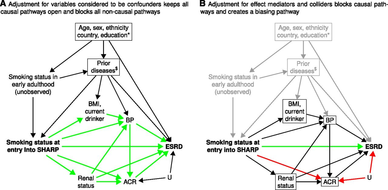 hight resolution of use of causal diagrams to inform the design and interpretation of observational studies an example from the study of heart and renal protection sharp