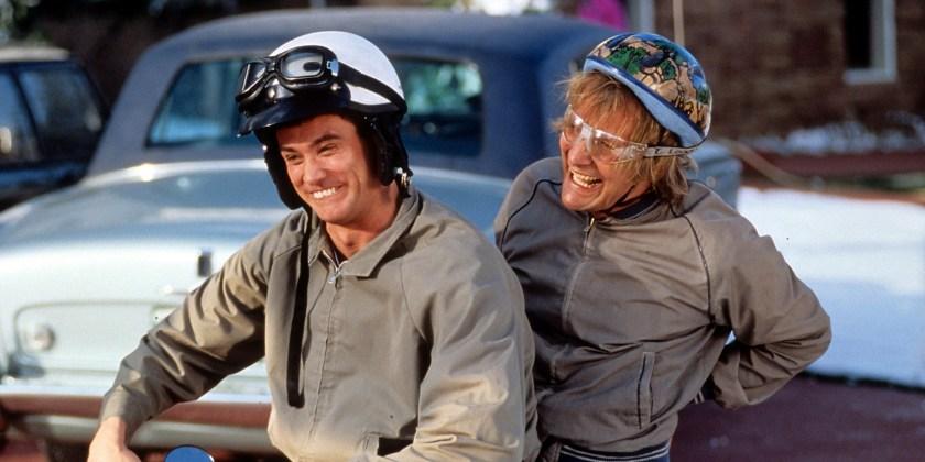 Jim Carrey And Jeff Daniels In 'Dumb & Dumber'