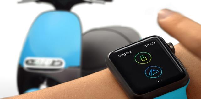 Gogoro 全新智慧解鎖功能,透過智慧型手機或 Apple Watch 即可上鎖、解鎖與開啟車廂