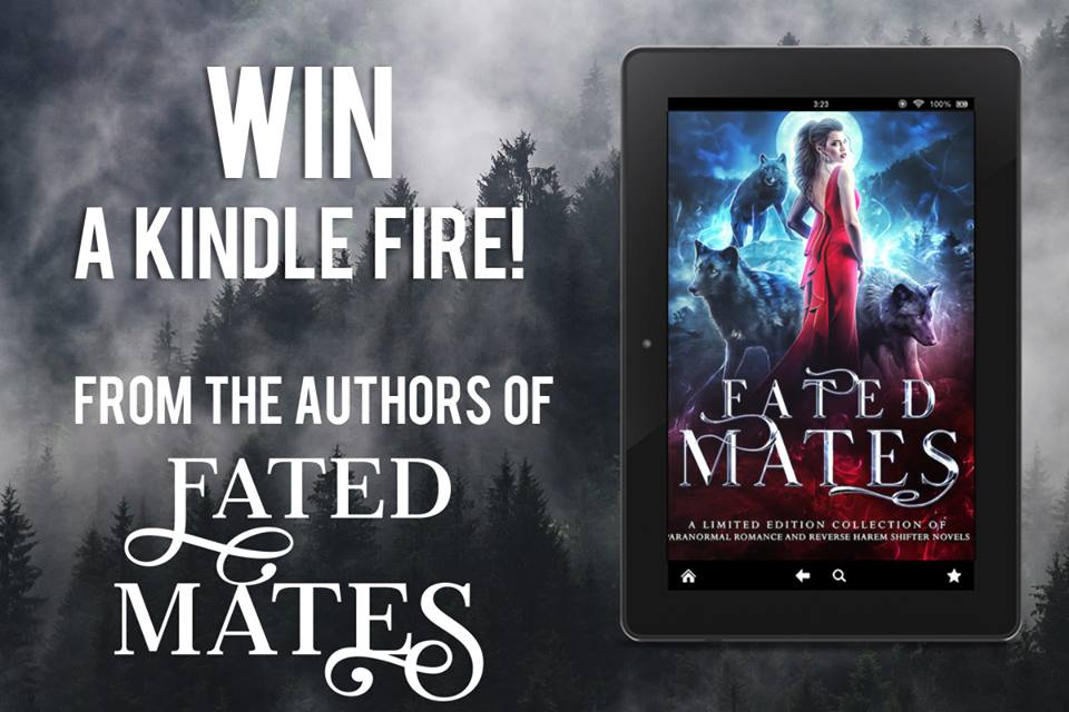 Fated Mates Kindle Fire Giveaway Image - win a Kindle Fire from the authors of Fated Mates.