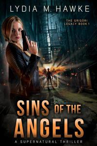 Sins of the Angels a Supernatural Thriller cover Art