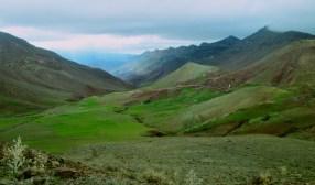 The Atlas Mountains near Cascades d'Ouzad.