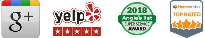 "alt=""2018 Review badges for yelp, google, home advisor, and Angie's list for CJB Pest & Mosquito Control"""