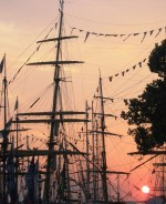 ships at sunset 1
