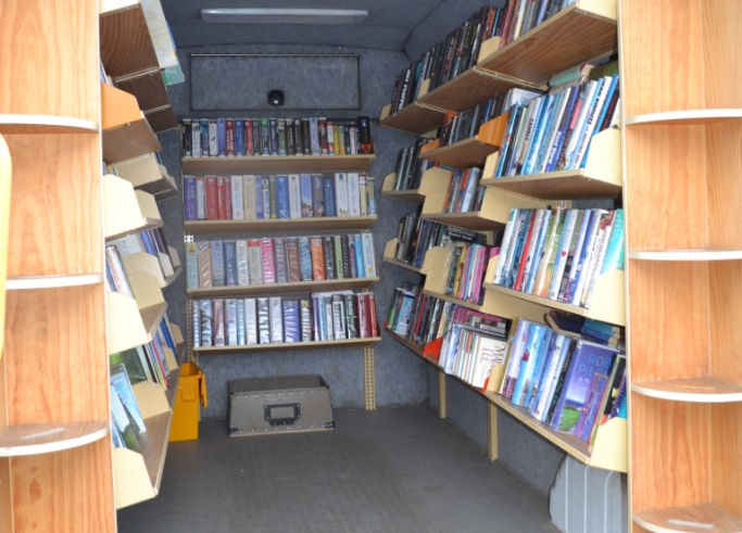 Lincolnshire County Council Library Van