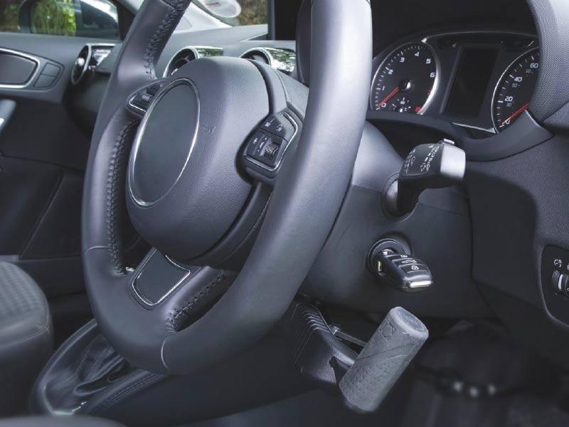 Push Pull Hand Controls Vehicle Adaptation