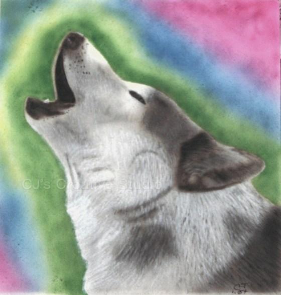 Wolf on Pelon
