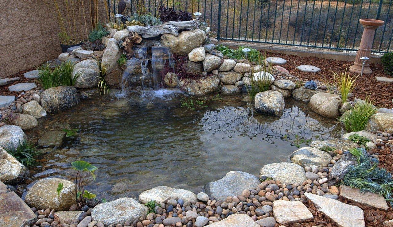 Easy Backyard Pond