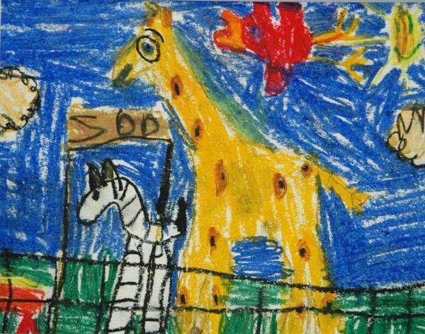 Elementary Students Art Work
